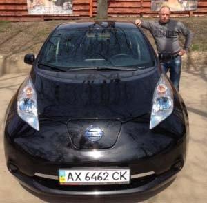 Электромобили Nissan Leaf Elcars
